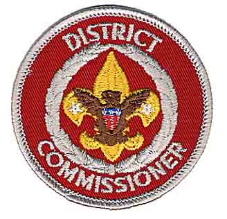 District Commissioner patch