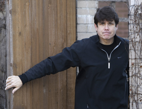 Illinois Governor Rod Blagojevich