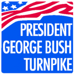 President George Bush Turnpike logo
